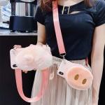 갤럭시노트10 + 9 8 s9 10 5g 돼지코 백 젤리케이스