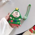 에어팟케이스 1/2 크리스마스 캐릭터 실리콘 416 트리