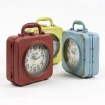 [2HOT] 엔틱 철제 양면 가방 탁상시계