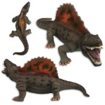 쥬라기 말랑 소프트 공룡인형 디메트로돈 대형 40cm