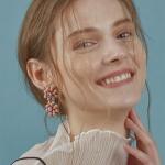 Flower Garden earring [ORANGE]
