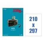 폼텍 저광택 사진용지 230g/㎡/IH-7022