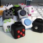 집중력 스트레스 해소 피젯큐브(fidget cube) 색상랜덤