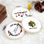 프랑스자수 DIY세트 겨울시리즈 크리스마스