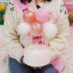 생일 풍선 케이크 벌룬 토퍼 DIY 6종 케익 장식 데코