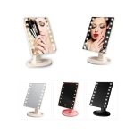쿡리빙 LED 조명 거울 메이크업 미러 무드등 손거울