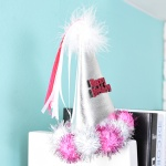 솜방울 생일고깔머리띠 [핑크]