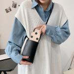 피닛 깔끔한 미니 크로스백 휴대폰가방