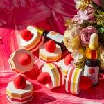 사랑스러운 딸기케이크 방향오브제 세트