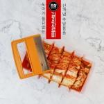 갓샵 김치자르미 1/2포기용 김치 보관통 칼 자르기