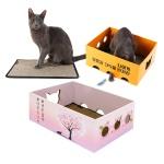 노리노리 고양이 카펫 스크래쳐박스/국내제조