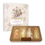 어여쁜 꽃말 컬러링북+아르누보 72색 틴케이스 세트