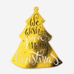 [인디고샵] [금박] 캐롤 크리스마스 트리 카드 (1개)