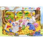 15조각 판퍼즐▶ 디즈니 - 곰돌이 푸우 생일파티