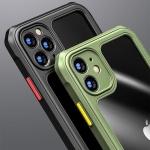 아이폰12 PRO MAX MINI/사각 에어백 범퍼 투명 케이스