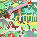 강아지 놀이터 100피스 퍼즐 / 5세이상