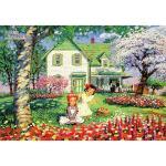 2014피스 직소퍼즐 - 빨강머리 앤 꽃의 계절 (미니)