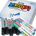 보드마카 혼합 1더즌 문교화학 화이트보드용 펜 검정 파랑 빨강 초록 혼합 마카펜 수성펜