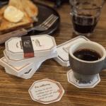 카페 띵즈 코스터 메모
