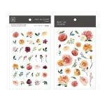 Miccudo 프린트-온 스티커 Ver.2 (9. Sun Rose)
