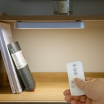 아이린 무선 이동식 부착형 LED무드등 램프+리모컨