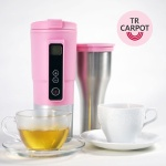 [티리링]유로 만능카포트 스마트컵 핑크 차량커피포트 TRRITC0101