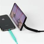 CONNETICK 스탠드 8핀 C타입 고속충전 케이블 핸드폰 거치대