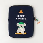 자수 노트북파우치_Keep going pliko(ipad 11/13/15