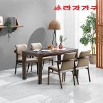 미농 고무나무 원목 식탁 테이블 4인용 1400