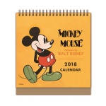 [최저가] 디즈니 미키 마우스 탁상달력 2018: 한정판 캘린더