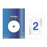 폼텍 CD/DVD 라벨/IS-3642AP