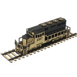 DIY나무모형 마을 시리즈6 열차