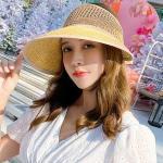 Mujer verano daily 밀짚 왕골햇 4color CH1610369