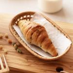 라탄 타원형 카페 인테리어 주방 트레이 쟁반 (소)
