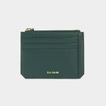 Dijon M201 Flap mini Card Wallet olive green 디종 카드 월렛 올리브그린