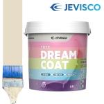 제비스코 드림코트 에그쉘광 0.9L 벽지페인트