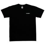버티컬스탠드업 블랙컬러 티셔츠