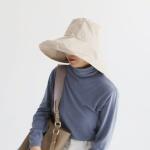 햇빛완벽차단/힙스터 벙거지 라운드 버킷햇