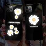 아이폰11 pro max 꽃 고양이 발광 라이팅 하드 케이스