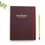 DEAR MOMENT 3공 다이어리 커버(A5)-팬톤 제스터레드