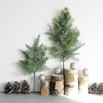 [2HOT] 크리스마스 주니퍼 세다 가지 1P (소)