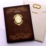 엔틱 시계 - 책갈피카드