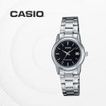 카시오 아날로그 메탈 여성 손목시계 LTP-V002D-1A