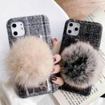 아이폰 11pro max xr xs 7 8+ 토끼 꼬리 니트케이스
