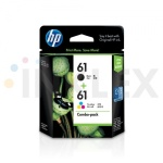 HP 정품잉크 CR311A NO61 CH561A+CH562A Black,Tri-color Combo Pack