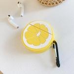 에어팟1/2 차이팟 케이스 과일 실리콘 키링 268 레몬