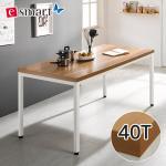 [e스마트] 스틸헤비 테이블 1600x600 (일자다리) 40T