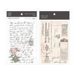 Miccudo 프린트-온 스티커 Ver.2 (13. PrivateLetter)
