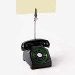[인디고샵] 할머니 집에서 본듯한 전화기 메모클립