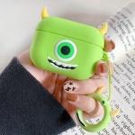 에어팟 프로 3세대 귀여운 실리콘 케이스_그린050/PRO